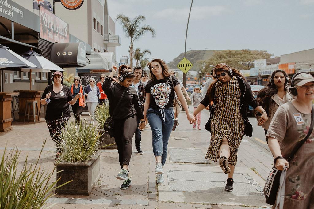 Dance on the street Silent Disco Auckland