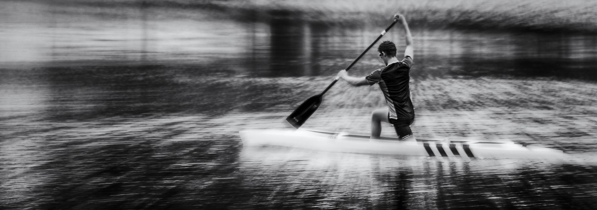 Le kayakiste