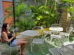 Rachel at El Barrio Cafe Hotel