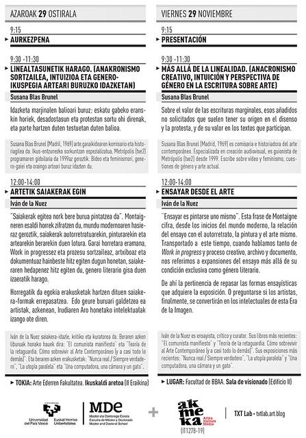 FOLLETO IV JORNADAS ESCRIBIR DE ARTE_2019_A5-2