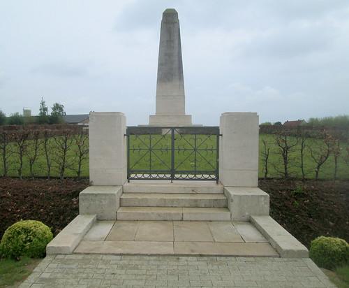 50th Northumbrian Division Memorial, Wieltje, Belgium