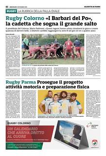 Gazzetta di Parma 06.11.19 - pag 50