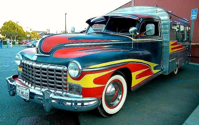 Sweet Dodge camper
