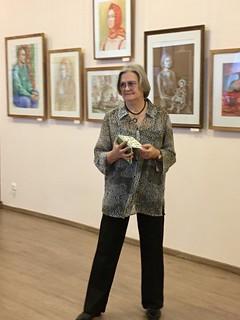 06.11.2019   Открытие выставки картин «Люди и храмы»