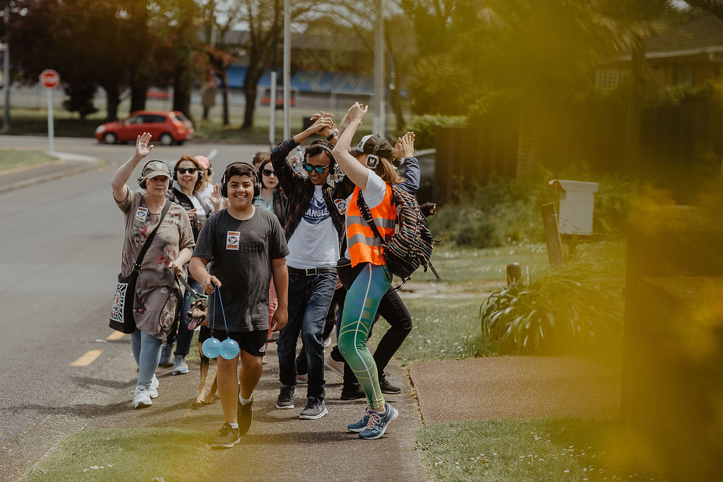 Dance and Walk Fun Engaging Outdoor Auckland Events