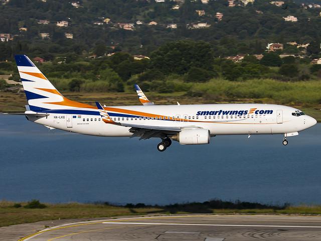 Smartwings Hungary | Boeing 737-8CX(WL) | HA-LKG