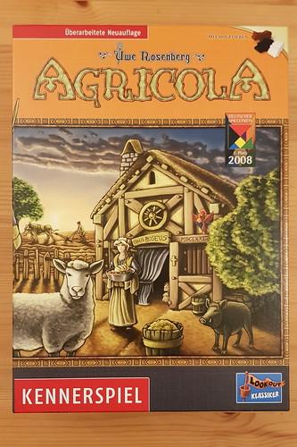 Brettspiel / Strategiespiel Agricola