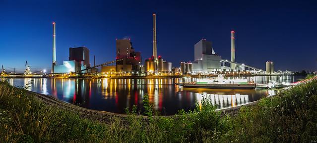 Grosskraftwerk Mannheim (Panorama)