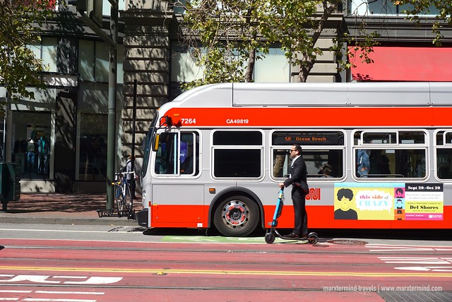 Muni Bus San Francisco
