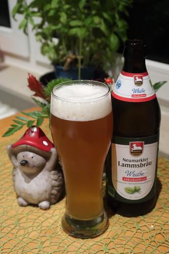 Alkoholfreies Neumarkter Lammsbräu Weißbier