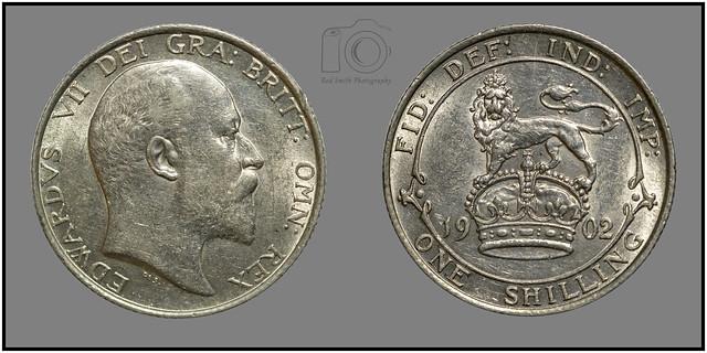 Edward VII shilling 1902