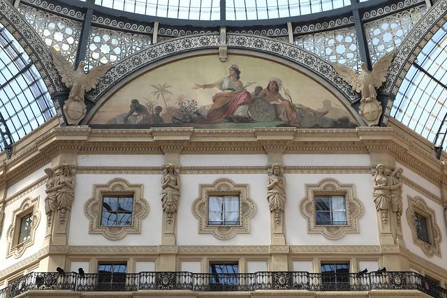 Galleria Vittorio Emanuele II (1865-67) # 6