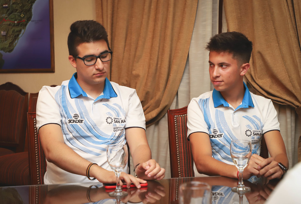 2019-11-06 PRENSA: Saludos protocolares a deportistas sanjuaninos
