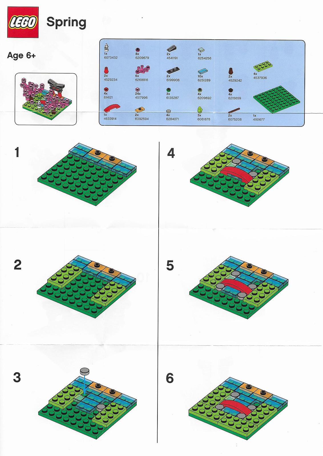 Toys 'R' Us LEGO Bricktober 2019 - Spring