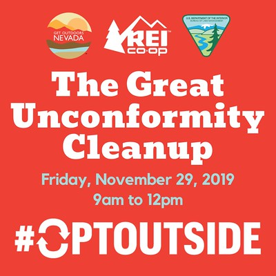 The Great Unconformity Cleanup Flyer Square