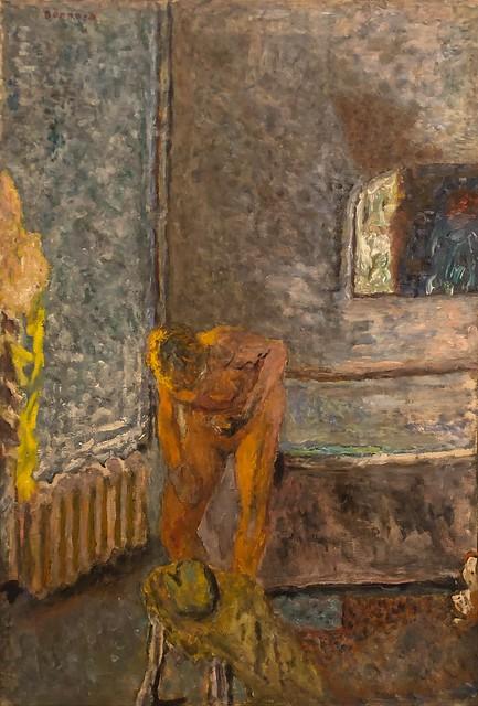 1935, Pierre Bonnard, Nude in an Interior