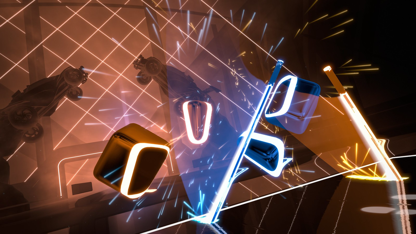 Beat Saber x Rocket League Mashup