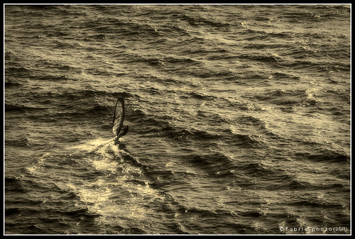 Surf nello splendido mare dell'Elba