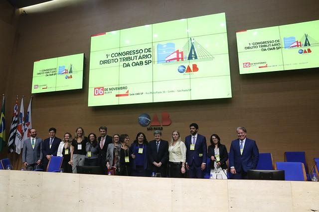 06.11.2019- 1° Congresso de Direito Tributário da OAB SP