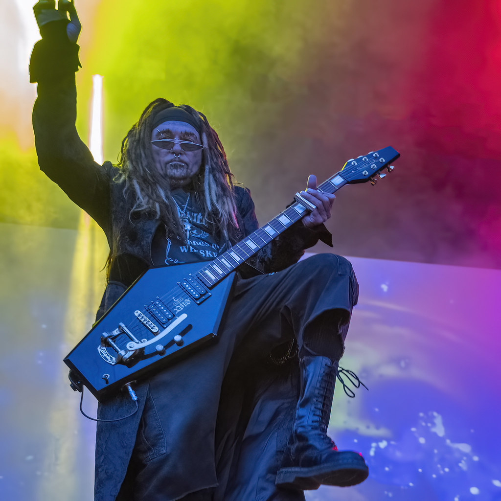 Al Jourgensen of Ministry @ 2019 Gefle Metal Festival