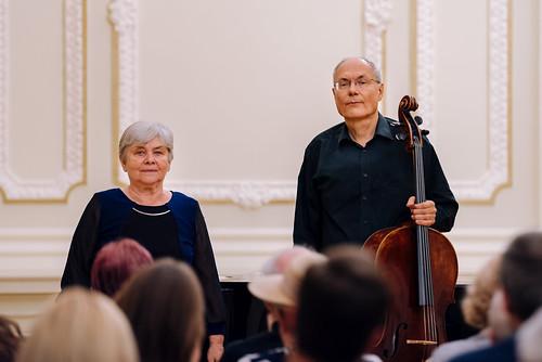 Pukánszky Béla és Dombiné Kemény Erzsébet hangversenye