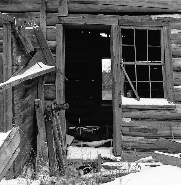 Abandoned Farm-L'anse Indian Reservation