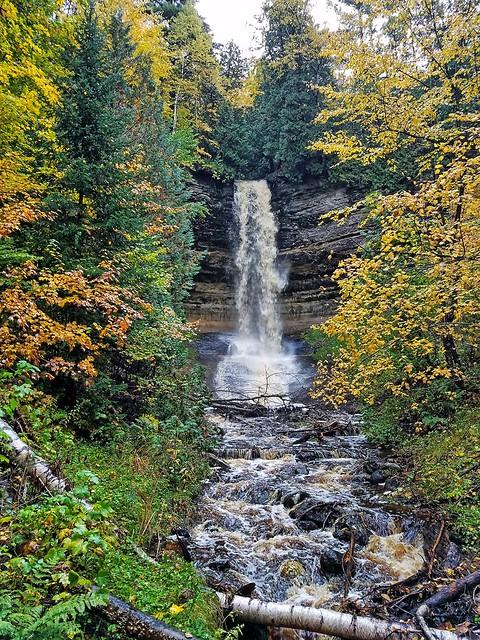 Munising Falls- Pictured Rocks National Lakeshore- Alger County MI (2)