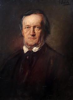Richard Wagner (1895)  by Franz von Lenbach (Schrobenhausen, 13 dicembre 1836 – Monaco di Baviera, 6 maggio 1904) - Alte Nationalgalerie, Berlino