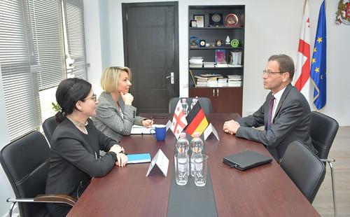 24.10.19. შეხვედრა გერმანიის ფედერაციული რესპუბლიკის ელჩთან