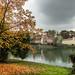 Il borgo medioevale. Autunno