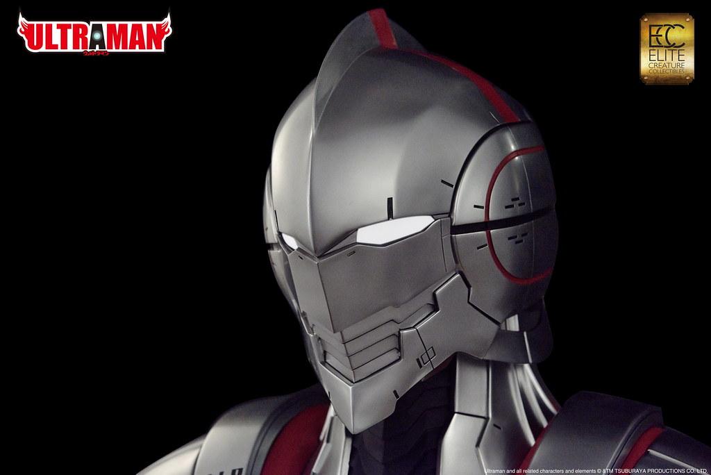 綻放機械裝甲之光!Elite Creature Collectibles《ULTRAMAN 超人力霸王》ULTRAMAN 1:1比例 胸像作品