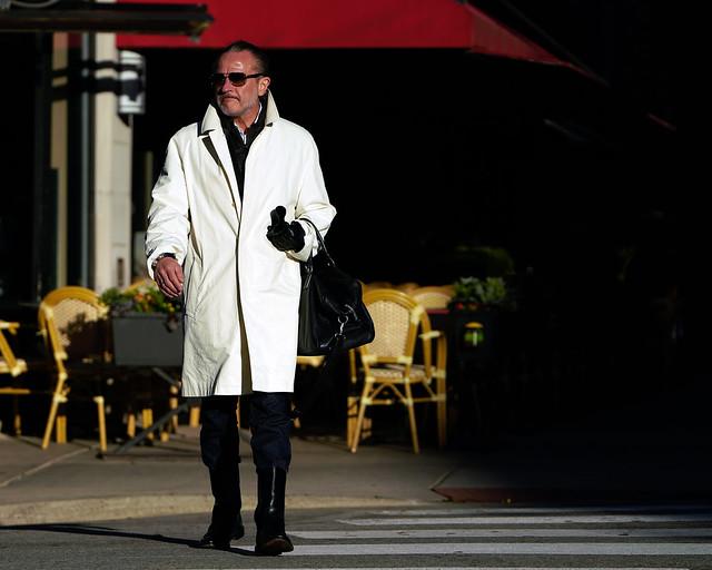 Dazzling White Coat