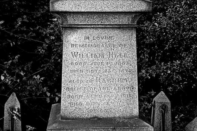 Walk Hull General Cemetery 22 Sept 2019 Monochrome