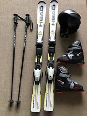 Dětský lyžařský set 117 - titulní fotka