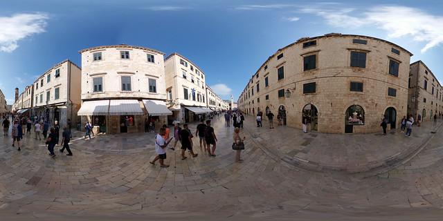 Kroatien - Dubrovnik, Altstadt 360 Grad