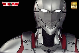 綻放機械裝甲之光!Elite Creature Collectibles《ULTRAMAN 超人力霸王》ULTRAMAN 1:1比例 胸像作品