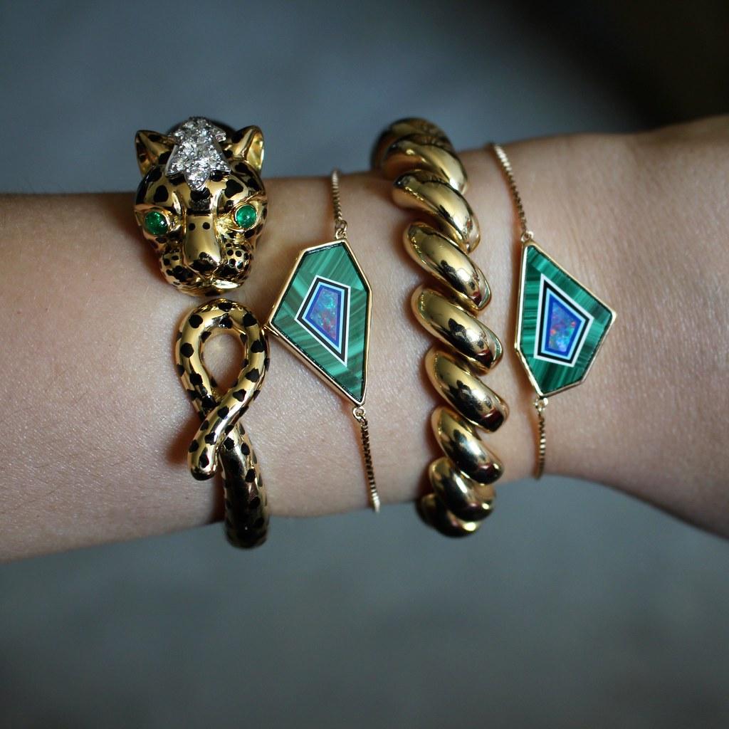 Intarsia Jewelry