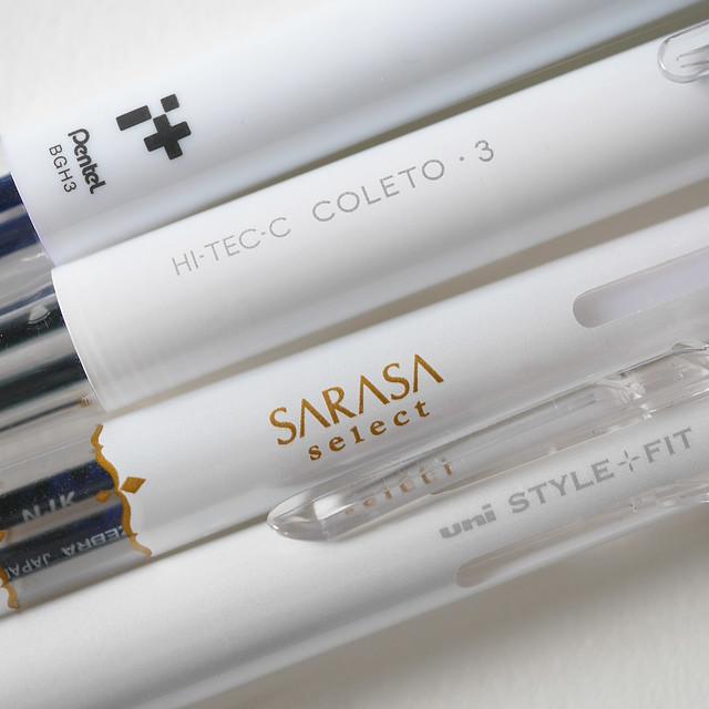 多色ボールペン 多機能ボールペン スタイルフィット サラサセレクト ハイテックC コレト アイプラス