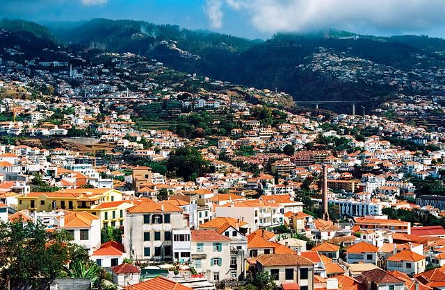 Funchal, viewed uphill