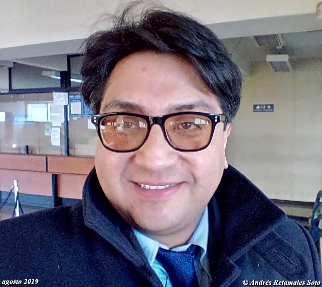 Andrés Retamales, Primer Juzgado de Policía Local de Ñuñoa, Santiago de Chile, agosto 2019. ⚖️🆑