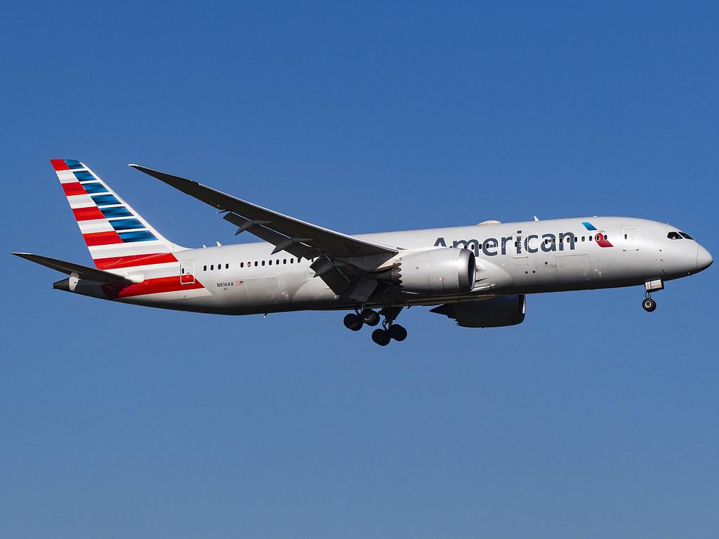American Airlines | Boeing 787-8 Dreamliner | N816AA