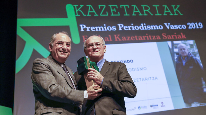Premios Periodismo Vasco 2019