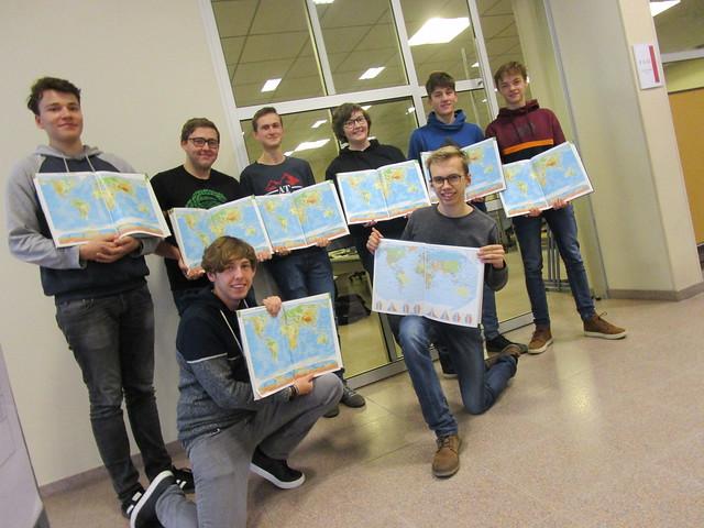 Geo-olympiade daagt de leerlingen uit