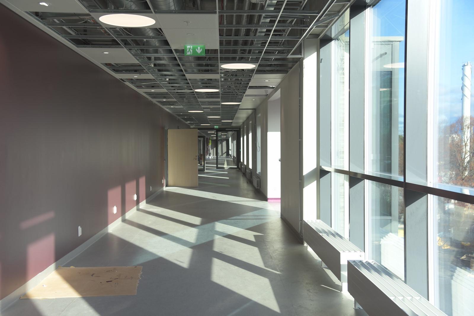 Fotodokumentation, nybyggnad, etapp D1, Länssjukhuset Ryhov