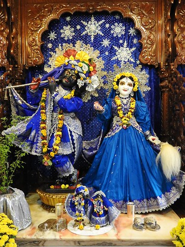 ISKCON New Mayapur Deity Darshan 06 Nov 2019