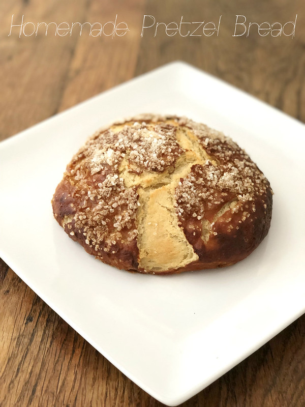 Homemade Pretzel Bread