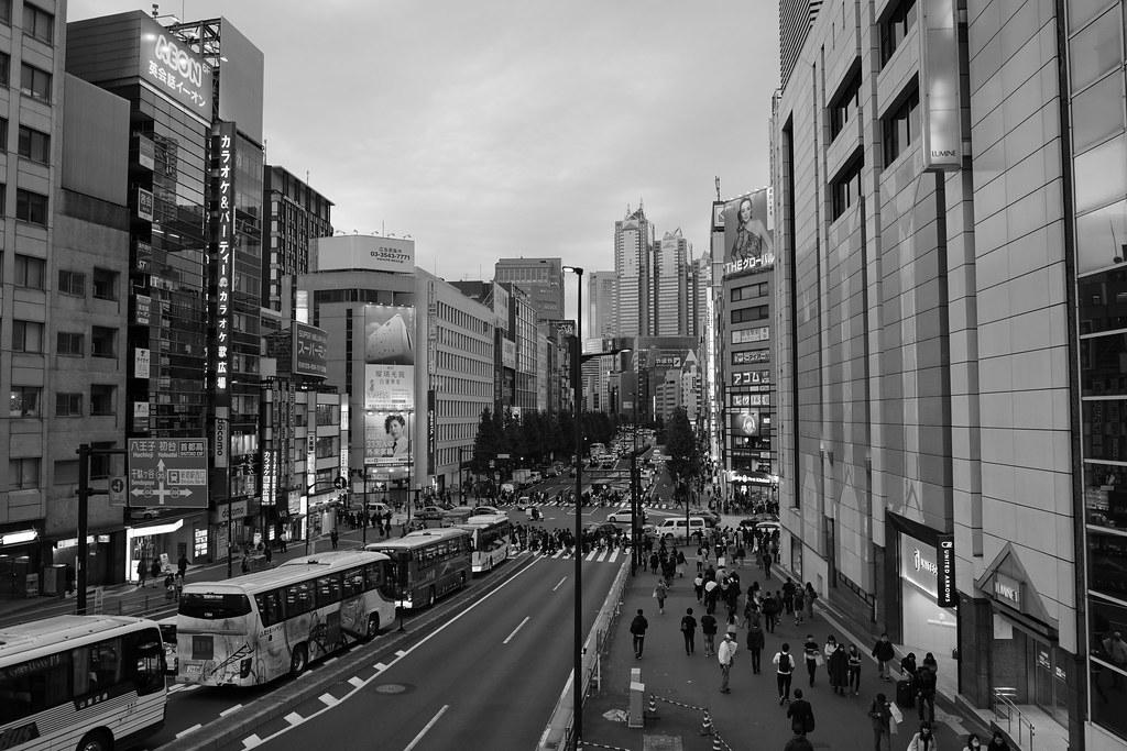 Shinjuku in Japan