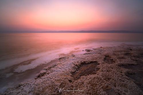 sony2019giordaniadeserto mare sea mar morto dead deadsea marmorto landscape paesaggio sunset tramonto seascape jordan color colore