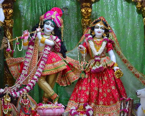 ISKCON Bangalore Deity Darshan 07 Nov 2019