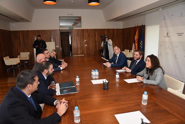 Reunión con la Federación Regional de Empresas Constructoras de Castilla La Mancha (FERECO)